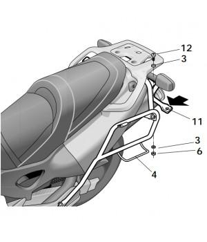 SHAD Крепление боковых кофров SH42 VARADERO XL1000V ( 99 - 06 )