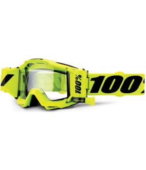 Очки для кросса 100% Accuri Forecast Fluo Yellow