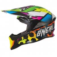 Шлем кроссовый O´Neal 10 Series Glitch MX