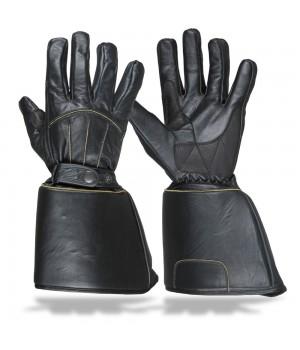 Кожаные перчатки Sweep Mustang MK3 черный