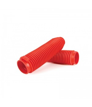 PROGRIP Защитные гофры перьев вилки FORK BOOTS 42/45мм, красные