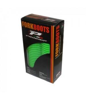 PROGRIP Защитные гофры перьев вилки FORK BOOTS 42/45мм, зеленые