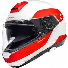 Шлем Schuberth C4 Pro Fragment Белый/Красный
