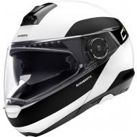 Шлем Schuberth C4 Pro Fragment Белый/Черный