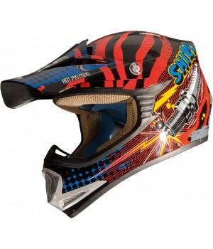 Шлем Shiro MX-306 Rockit Детский