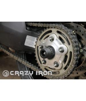 Слайдеры Ducati в ось заднего колеса