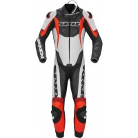 Spidi Race Warrior Perforated Pro Один кусок мотоцикл кожаном костюме
