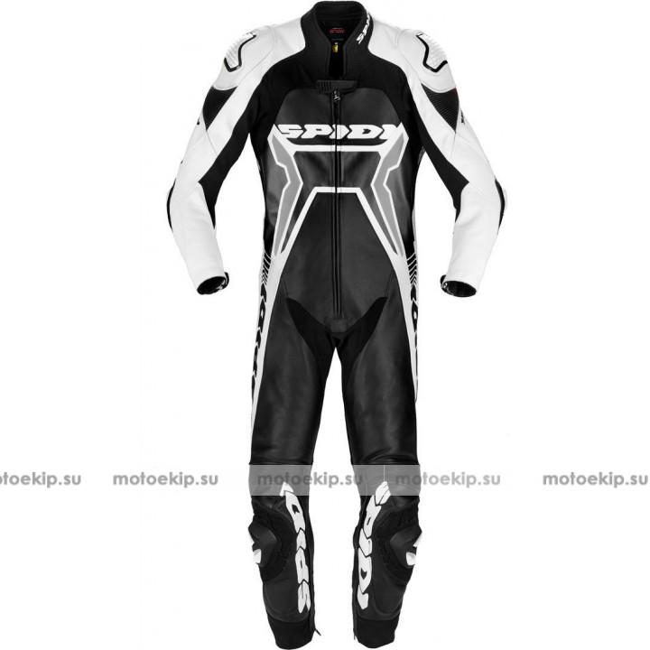 Spidi Warrior 2 Wind Pro Один кусок кожаном костюме