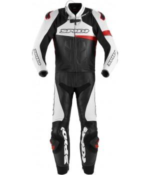 Spidi Race Warrior Touring Долго из двух частей мотоцикла кожаном костюме