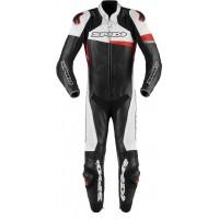 Spidi Race Warrior Pro Один мотоцикл кожаный костюм перфорированные