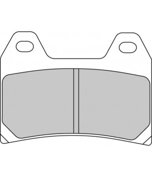 ARMSTRONG Колодки тормозные SINTERED 322440; FA244; DB7120; MCB698