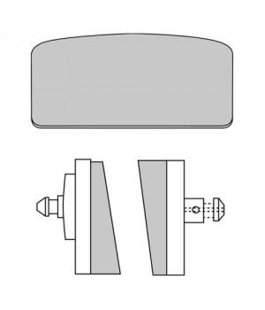 FERODO Тормозные колодки для мотоцикла FDB155