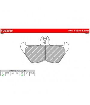 FERODO Тормозные колодки для мотоцикла FDB2050ST (MCB680SV)