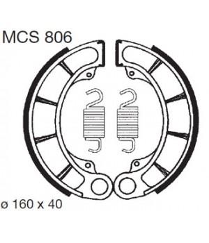LUCAS TRW Тормозные колодки для мотоцикла MCS806