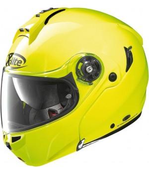 Шлем X-Lite X-1004 Hi-Visibility N-Com Flip-Up
