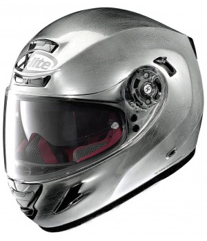Шлем X-Lite X-702 GT Start N-Com Scratch Chrome
