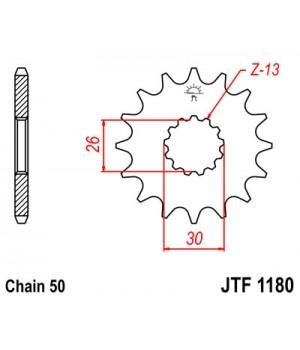 JTF1180.17 Звезда передняя 530