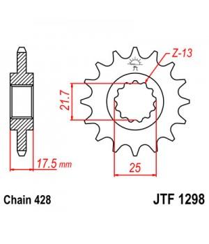 JTF1298.17 Звезда передняя 428