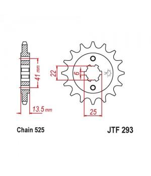 JTF293.14 Звезда передняя 525