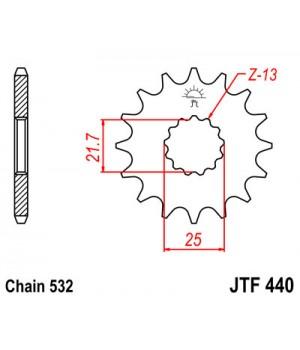 JTF440.16 Звезда передняя 532