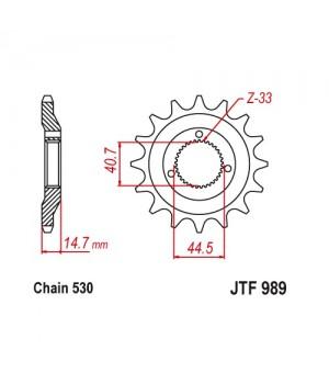 JTF989.21 Звезда передняя 530