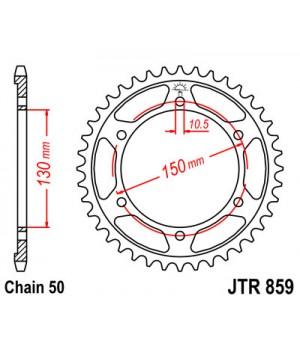 JTR859.49 Звезда задняя 530