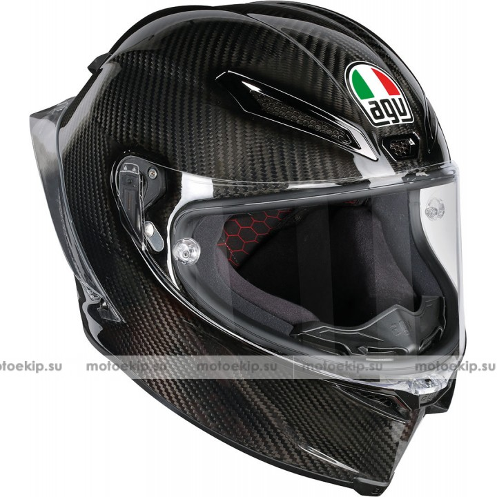 Шлем AGV Pista GP R Carbon Gloss Black