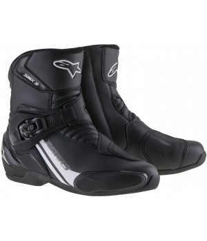 Alpinestars S-MX 3 Black Graphic Мото ботинки