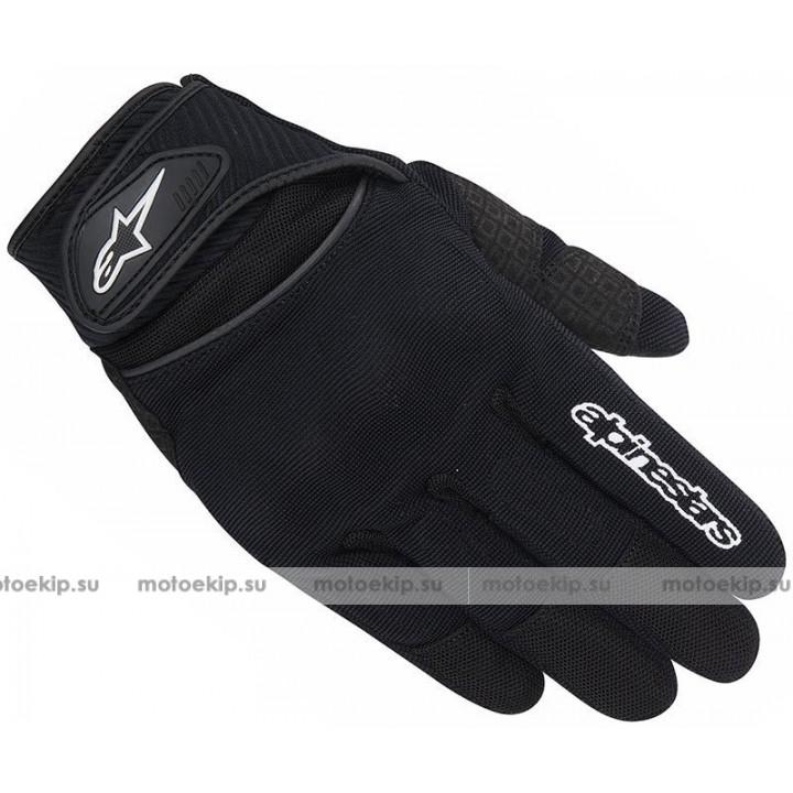 Мотоперчатки Alpinestars Spartan Black