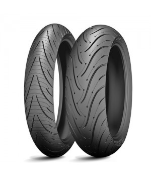 MICHELIN Pilot Road 3 (R17 180/55 73W TL Задняя (Rear))