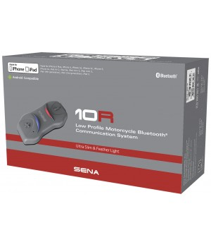 Sena 10R Bluetooth Headset Single Pack