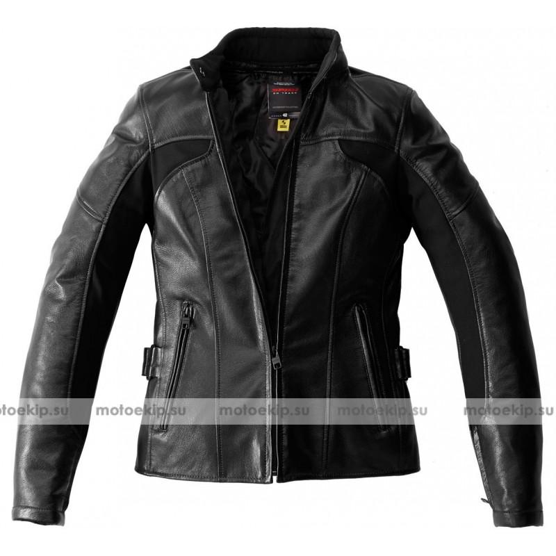 Women's motorcycle jacket dainese leather nexus lady ebony black for sale online